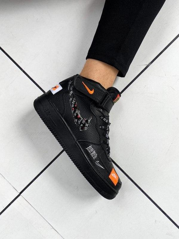 Nike air force 1 мужские стильные кроссовки - Фото 6