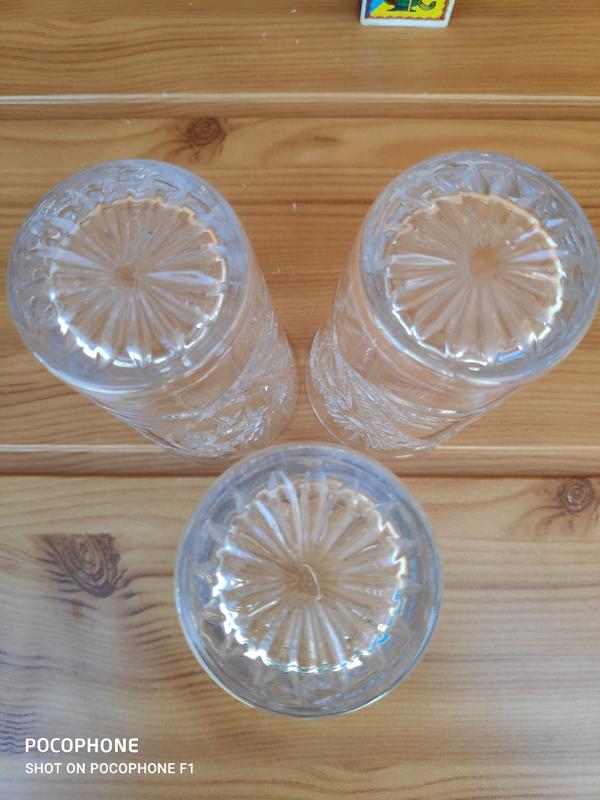 Винтаж Высокий хрустальный стакан - Фото 5
