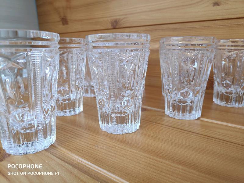 Винтажный набор стаканов - Фото 3