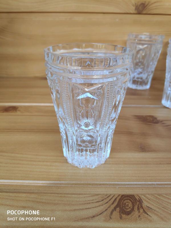 Винтажный набор стаканов - Фото 6