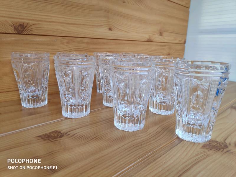 Винтажный набор стаканов - Фото 2