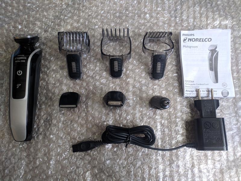 Машинка для стрижки триммер Philips Norelco 5100 QG3364 стайлер
