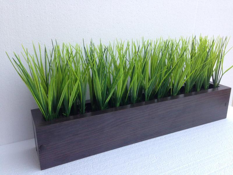 Трава штучна в боксі. Трава искусственная в ящике - Фото 3