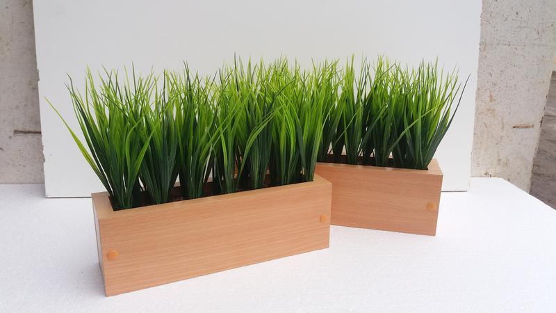 Трава штучна в боксі. Трава искусственная в ящике - Фото 2