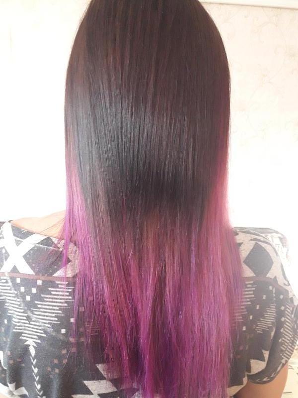 Кератиновое выравнивание и восстановление волос Наращивание волос - Фото 2