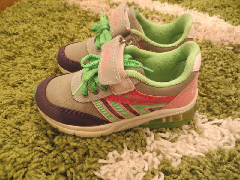 Кроссовки на девочку Callion 27 размер - Фото 2