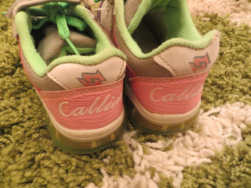 Кроссовки на девочку Callion 27 размер - Фото 4