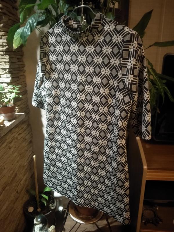 Крвсивое платье прямого кроя dorothy perkins