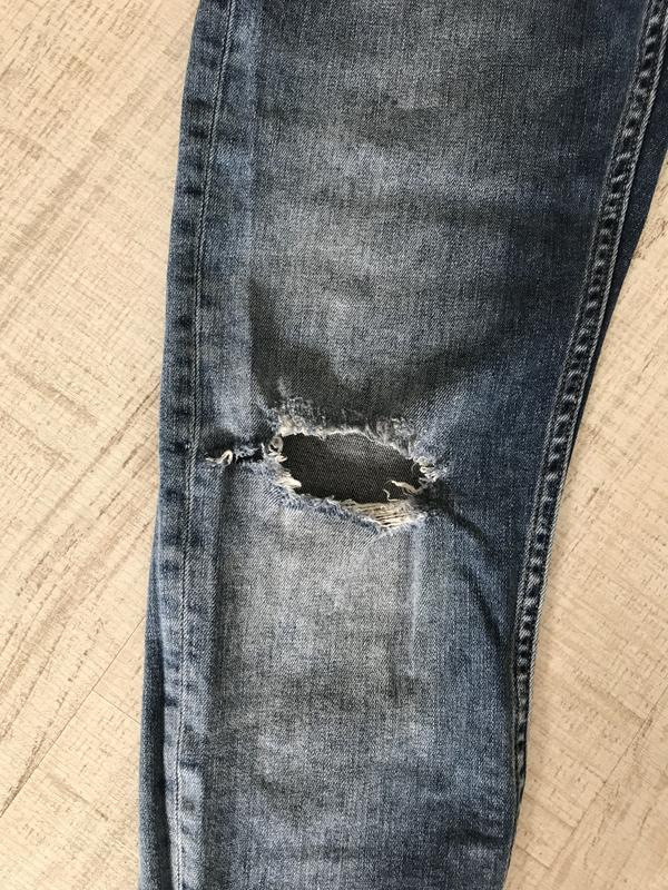 Джинсы скинни джинси скінні bershka бершка - Фото 7