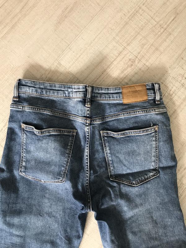 Джинсы скинни джинси скінні bershka бершка - Фото 9