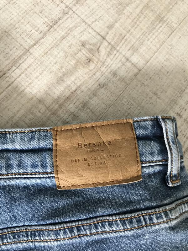 Джинсы скинни джинси скінні bershka бершка - Фото 10