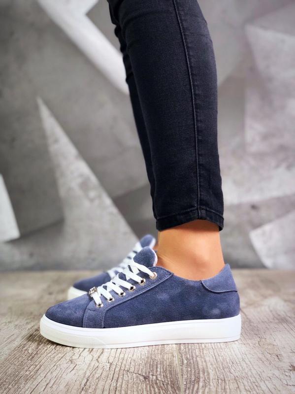 Замшевые кроссовки кеды в стиле philipp plein
