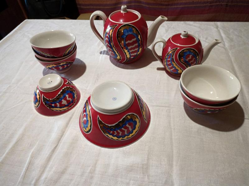Чайный сервиз с пиалками