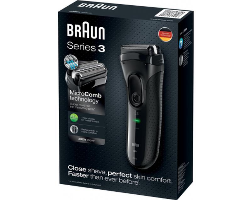 Электробритва Braun Series 3 3000s - Фото 4