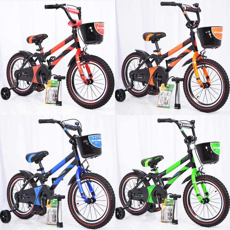 Детский двухколесный велосипед HAMMER S500 12,14,16,18 дюймов - Фото 4