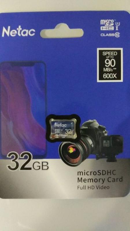Карта памяти 32 Гб Micro SD