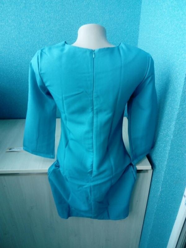 Стильное яркое женское платье футляр - Фото 2