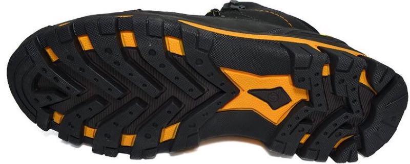Зимние мужские кожаные ботинки натуральный мех черного цвета тепл - Фото 2