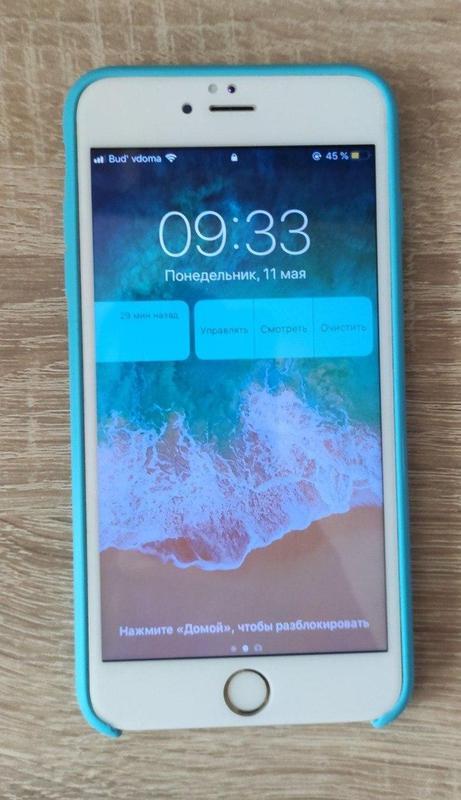 IPhone 6s plus + чехол