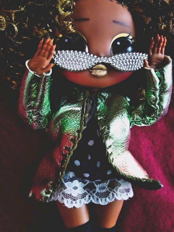 Одежда для кукл ОМГ OMG Monster Hai куртка ручная работа - Фото 2