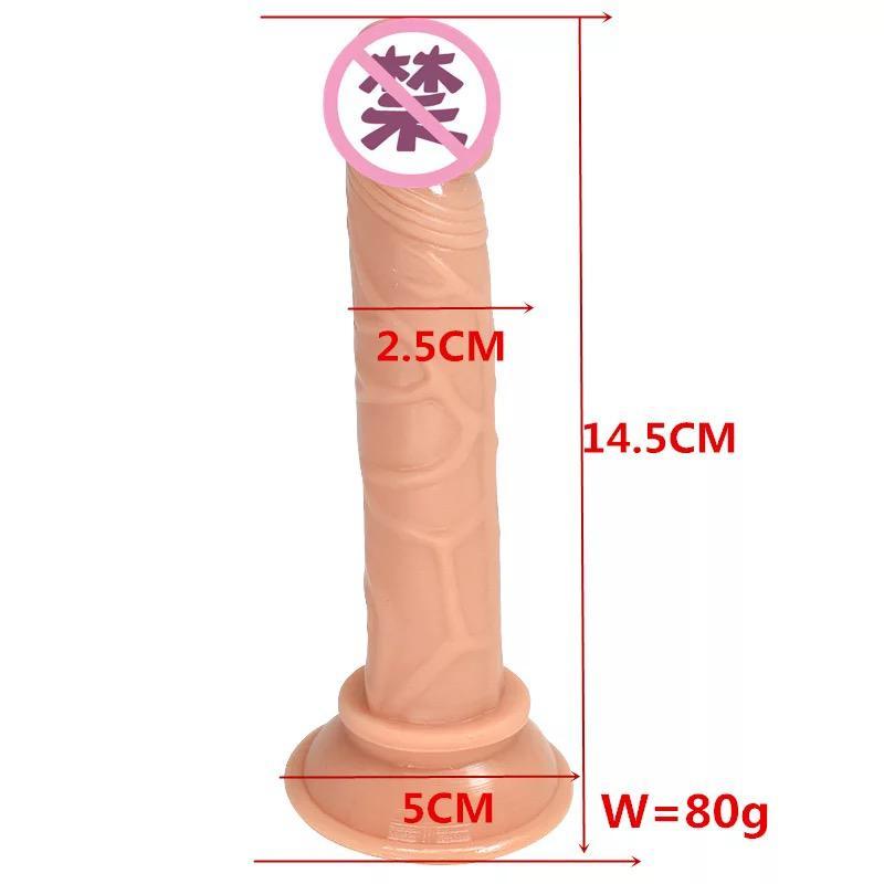 Фаллоимитатор European Lover, фаллоимитатор для женщин,вагинальны - Фото 2