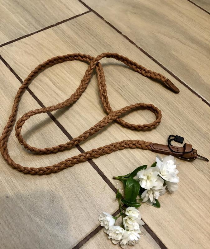 Плетёный ремешок ремень косичка