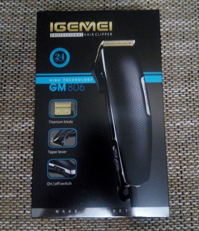 Машинка для стрижки Gemei gm-806 - Фото 7