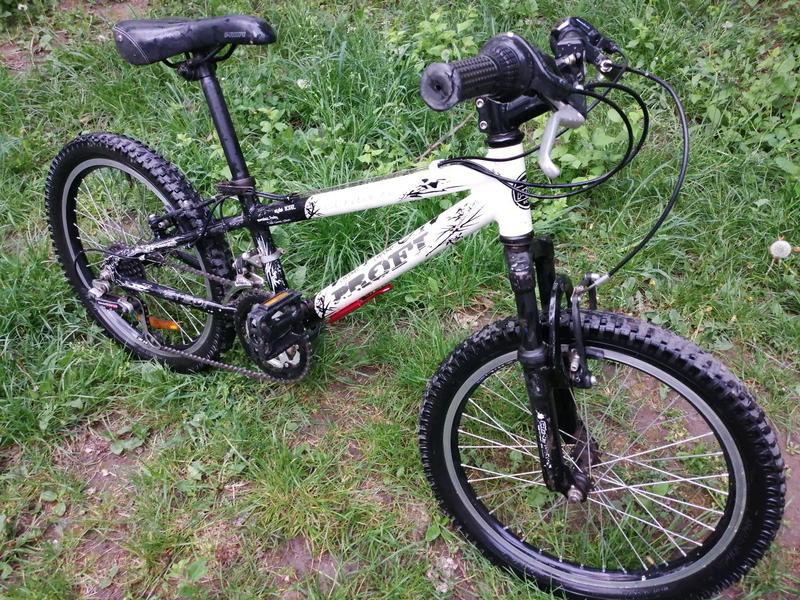 Велосипед 20 PROFI алюминиевый