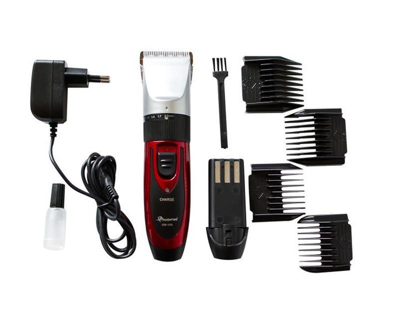 Беспроводная машинка для стрижки волос Gemei GM 550 (4109)