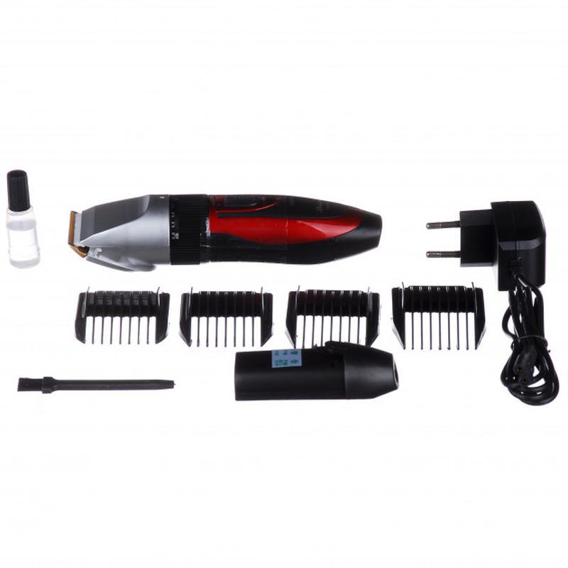 Беспроводная машинка для стрижки волос Gemei GM 550 (4109) - Фото 4