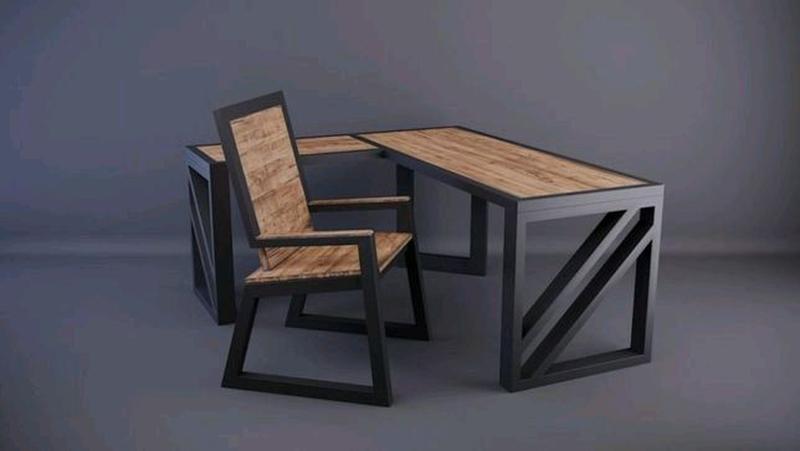 Изготовлением столов любой сложности в стиле лофт - Фото 8