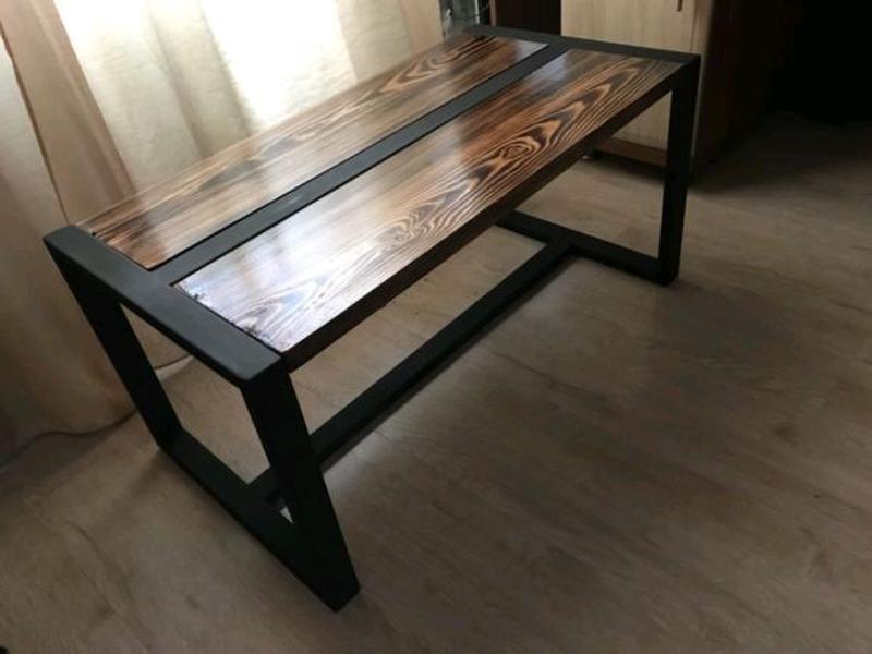 Изготовлением столов любой сложности в стиле лофт - Фото 4