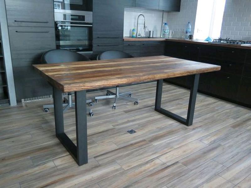 Изготовлением столов любой сложности в стиле лофт - Фото 7