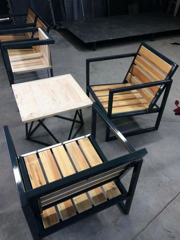 Изготовлением столов любой сложности в стиле лофт - Фото 9