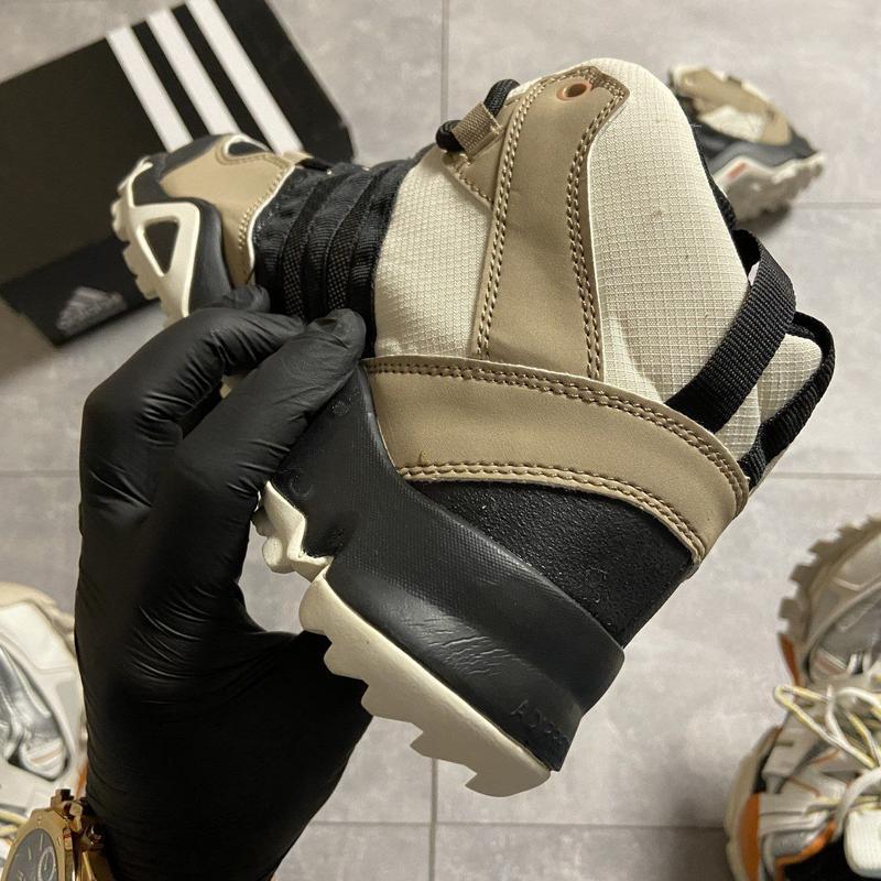 Кроссовки мужские adidas terrex ax3 beige/black - Фото 2