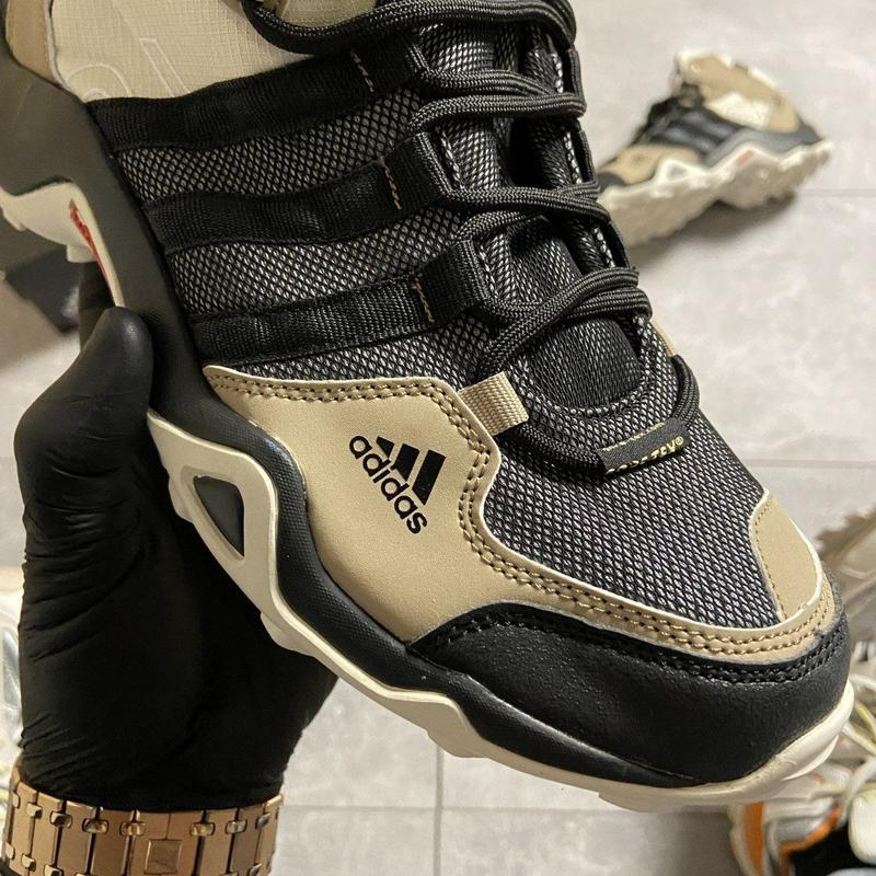 Кроссовки мужские adidas terrex ax3 beige/black - Фото 3