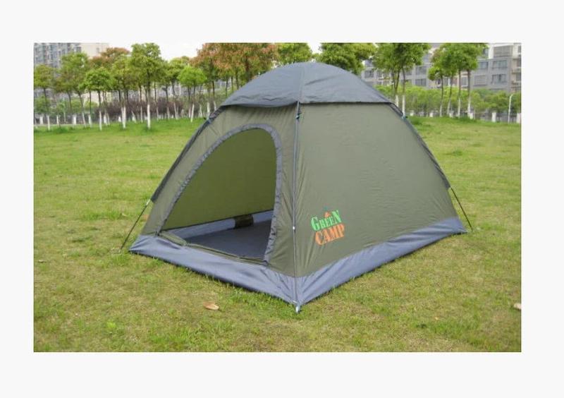 Двухместная палатка Green Camp 1503 - Фото 3