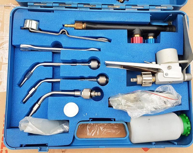 Газопламенное напыление оборудование
