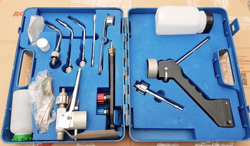 Газопламенное напыление оборудование - Фото 2
