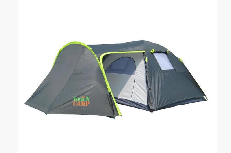 Палатка 4-х местная Green Camp 1009 - Фото 2