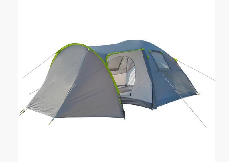 Палатка четырехместная Green Camp 1009-2 (2 входа) - Фото 5