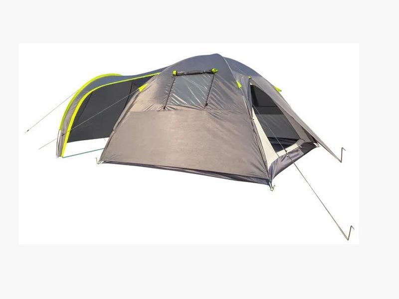 Палатка четырехместная Green Camp 1009-2 (2 входа) - Фото 4