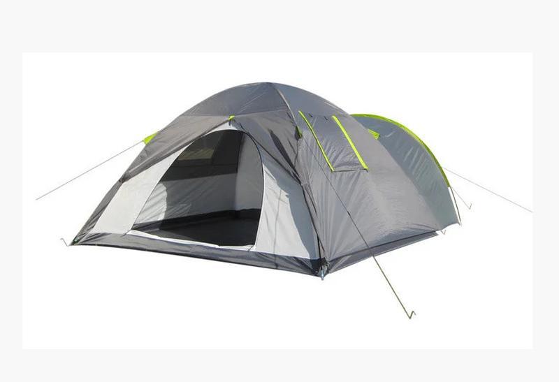 Палатка четырехместная Green Camp 1009-2 (2 входа) - Фото 3
