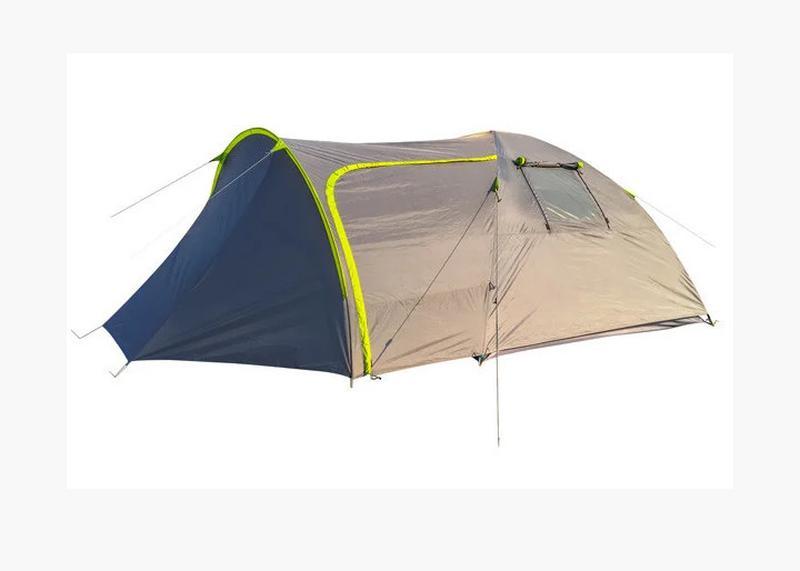 Палатка четырехместная Green Camp 1009-2 (2 входа) - Фото 6