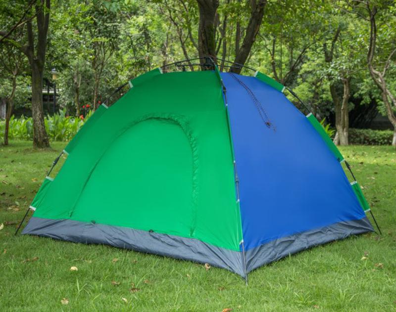 Палатка-автомат 4-х местная с автоматическим каркасом Leomax (210 - Фото 3