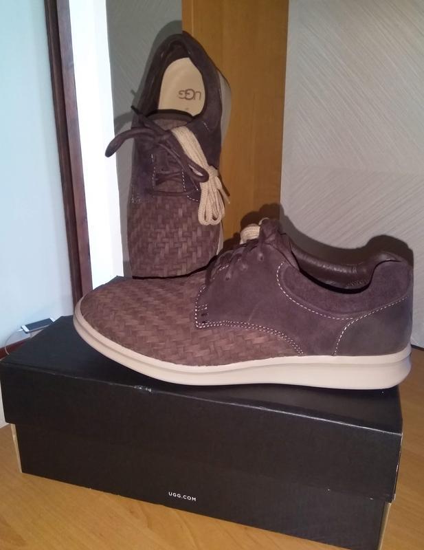 Новые кожаные туфли фирмы ugg оригинал из америки стелька 26, 5см