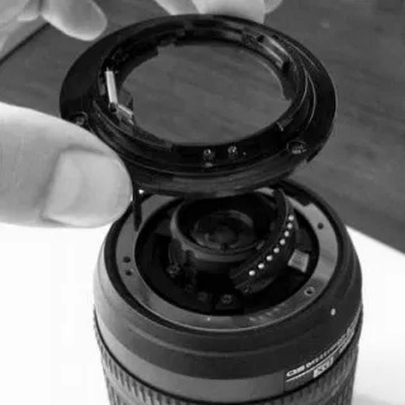 Байонет для объектива NIKON 18-55, 18-105, 18-135, 55-200 mm