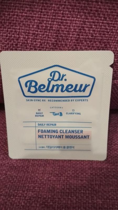 Пенка для умывания thefaceshop dr belmeur daily repair foam cl...