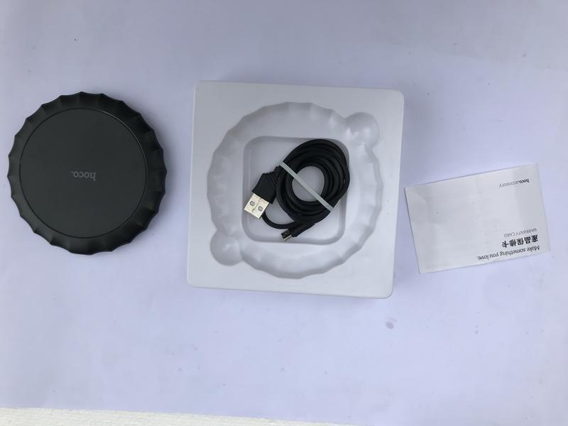 Беспроводное зарядное устройство HOCO CW13 - Фото 2