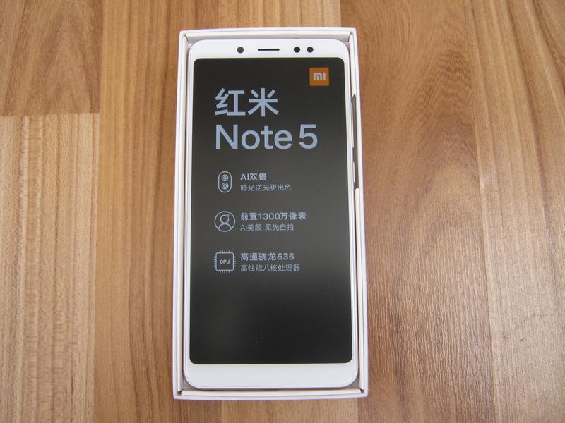 Xiaomi Redmi Note 5 3/32 Gold - Фото 2